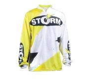 Турнирная джерси Storm (Белый, желтый, черный)