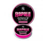 Леска плетеная Rapala Rapinova-X Multi Game