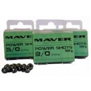 Грузила калиброванные Maver Power Shots (100 г)