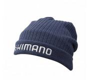 Шапка Shimano Breathhyper Fleece Knit Indigo Regular Size Watch cap